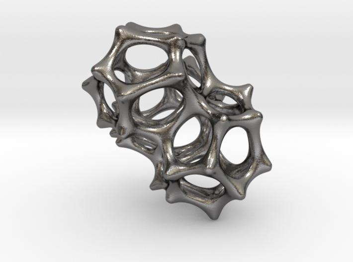VORONOI CLUSTER II  (Pendant) 3d printed