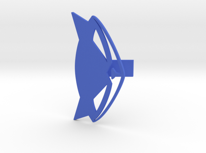 Sly Cooper Calling Card 3d printed
