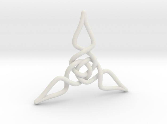 Triquetra Pendant 1 3d printed