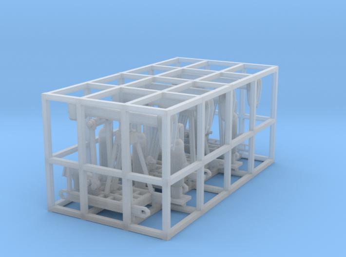 Oil Pump Jack N Scale 3d printed