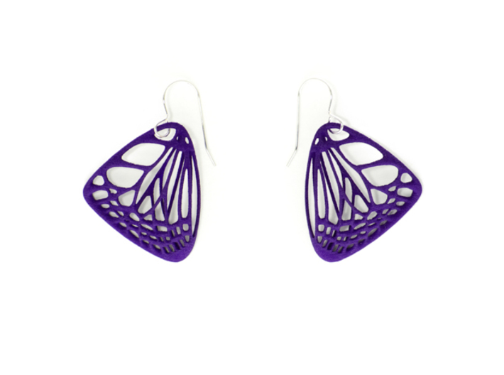 Butterfly Earrings (S) Plastic 3d printed