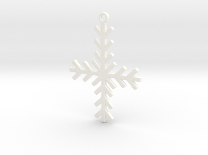Winter Cross 3d printed