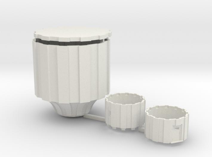 Watertoren 1:160 3d printed
