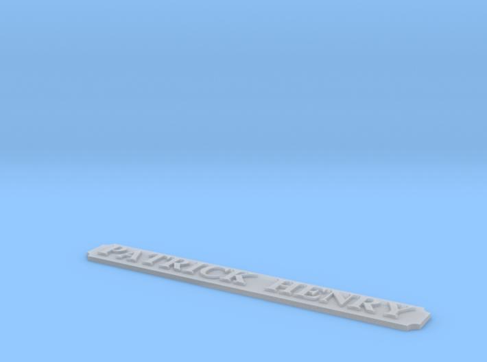 AVS Name Plate 3d printed