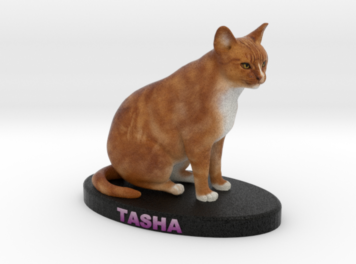 Custom Cat Figurine - Tasha 3d printed