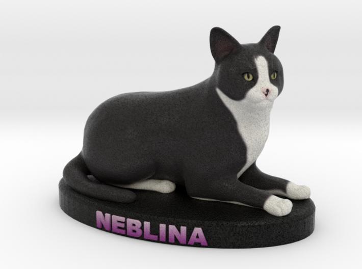 Custom Cat Figurine - Neblina 3d printed