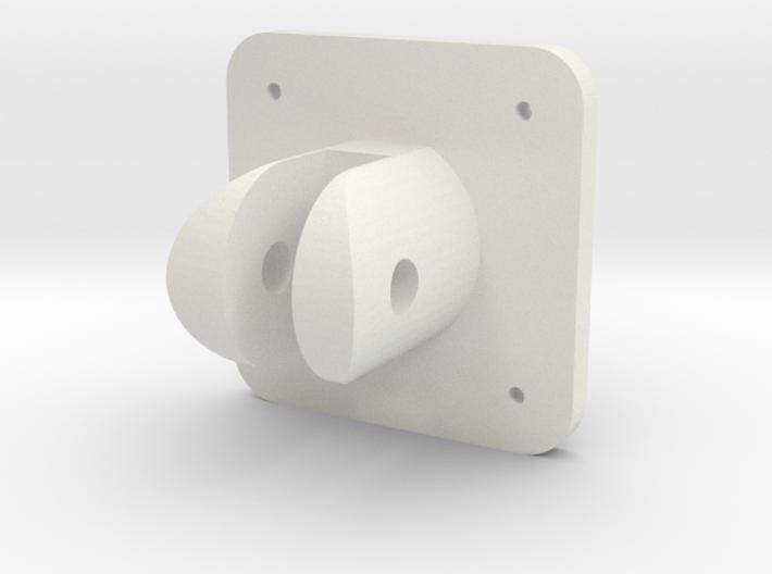 Spitfire Flap Selector Base 3d printed