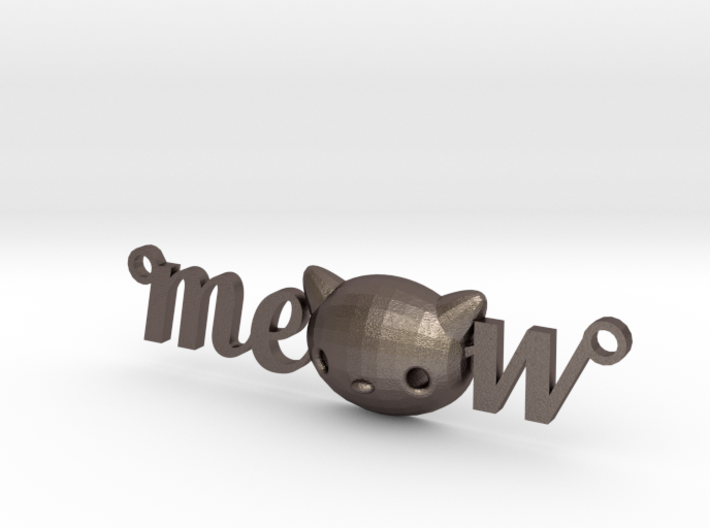 Meow Necklace by it's a CYN! 3d printed