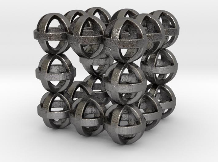 Sphere cube 30mm 3d printed