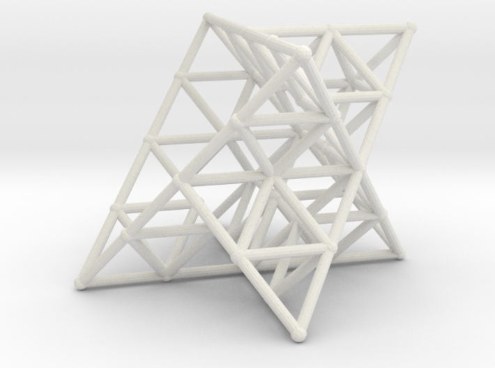 Rod Merkaba Lattice OpenBase 2cm 3d printed