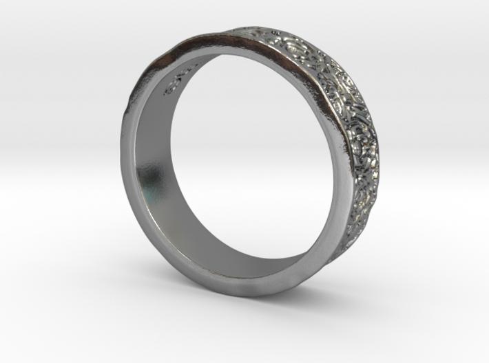 Rose Ring 3d printed