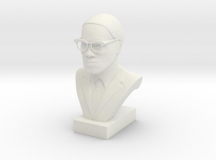 Malcolm X 3d printed