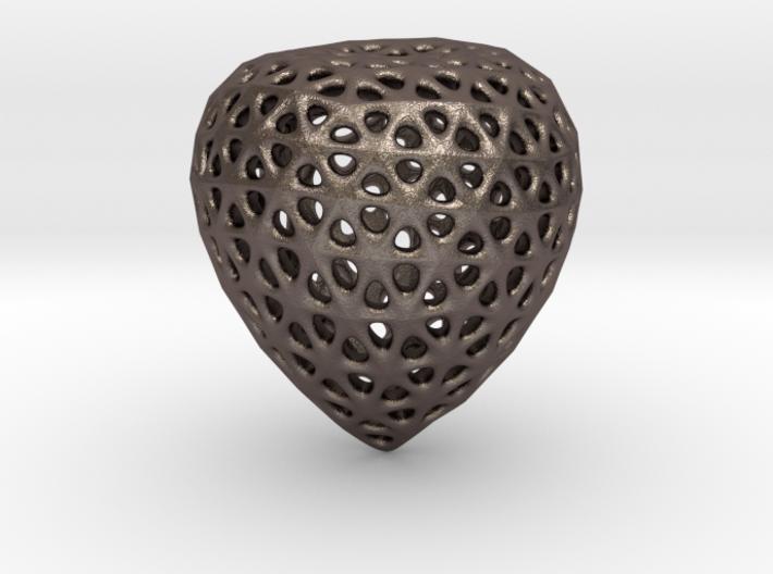 Hollowed Acorn 3d printed