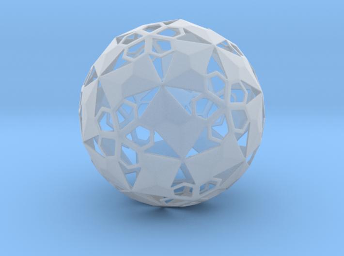 Pent Flower Sphere 3d printed