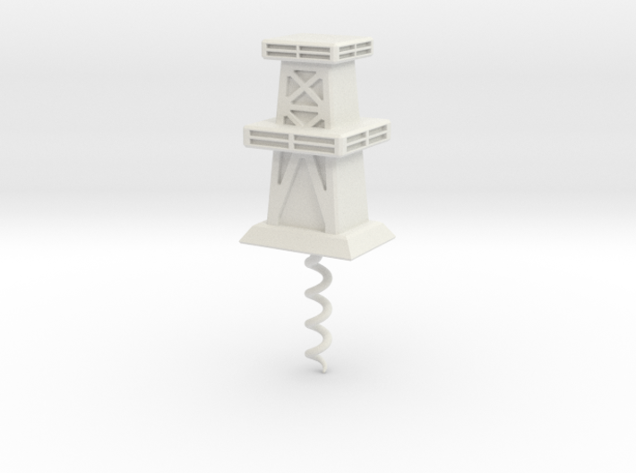 Cork Screw - Oil Derrick 3d printed