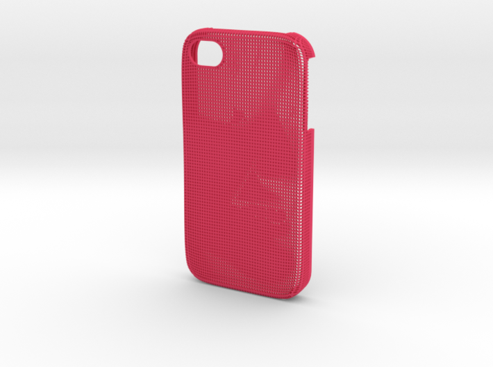 Iphone 4/4S 3D Printed case - Portrait collection 3d printed