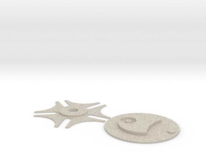 Genevacase-wheels 3d printed