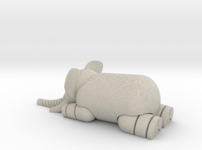 LFS Elephant 3d printed