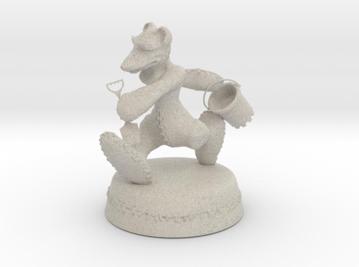 The Greystones Bear 3d printed