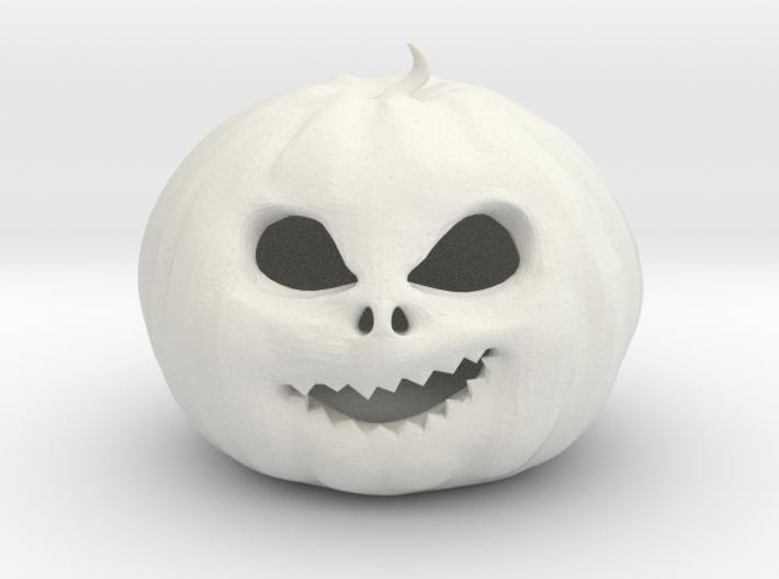 Smirking Pumpkin 3d printed