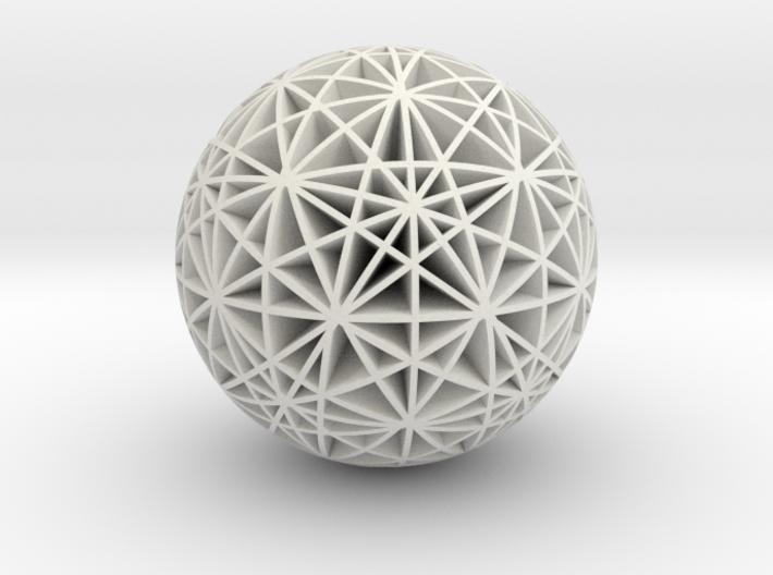 Stars Sphere 3d printed