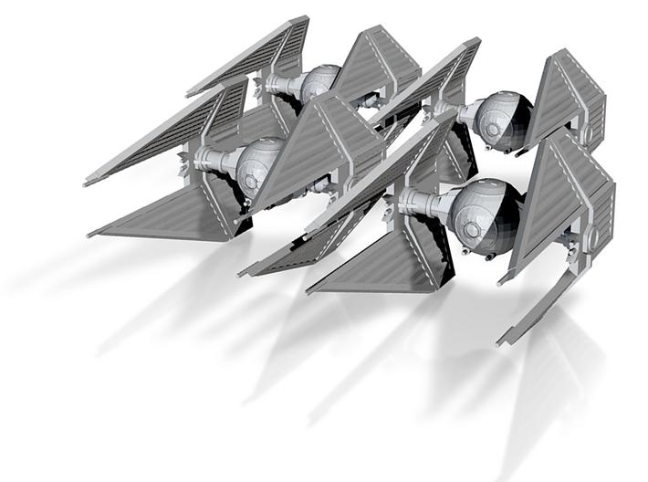 TIE/In Interceptor 3d printed