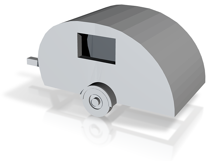 N Scale Scotty Lite travel trailer 3d printed