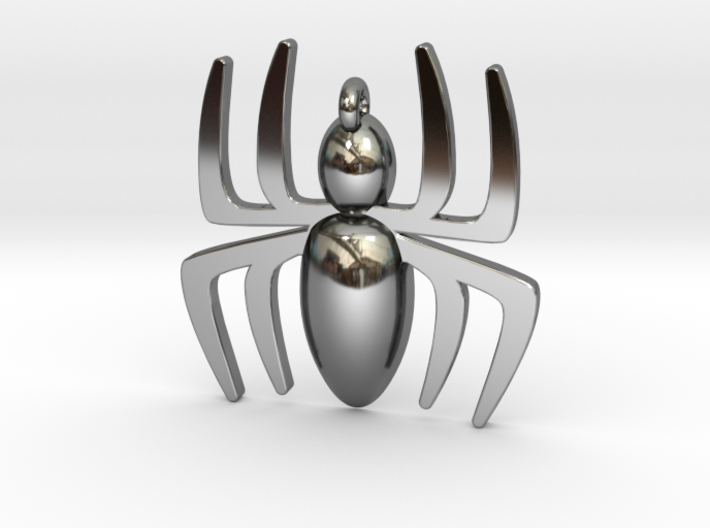 Small Spider Pendant 3d printed