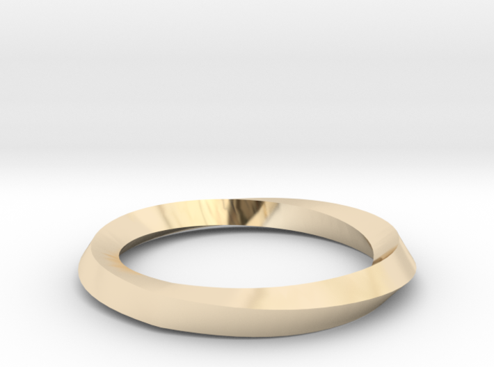 Mobius Wedding Ring-Size 7 3d printed