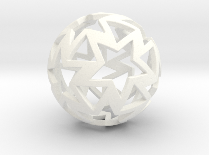 12-star ball 3d printed