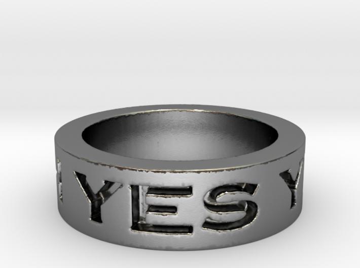 Agree ring 3d printed