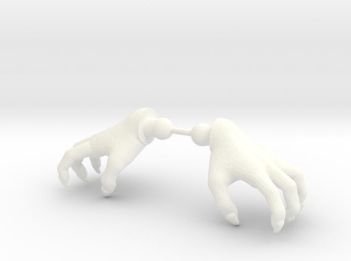 Monster Hands 3d printed