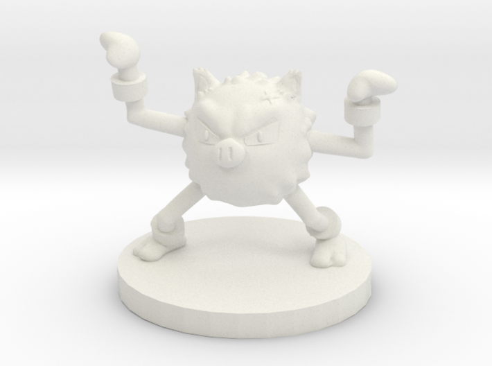Primeape Pokemon 3d printed