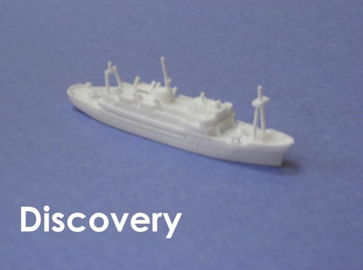 RRS Discovery (1962) (1:1200) 3d printed 1:1200 scale model of the second RRS Discovery