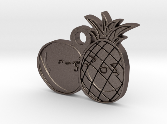 Love Fruits Carved 3d printed