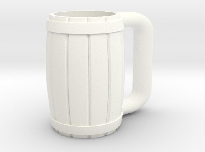 Great Rebellion Diorama Accessory - Wooden Mug 3d printed