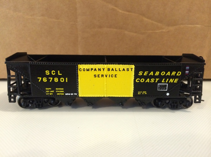 HO P-9 Ballast/Phosphate Hopper 3d printed Add a caption...