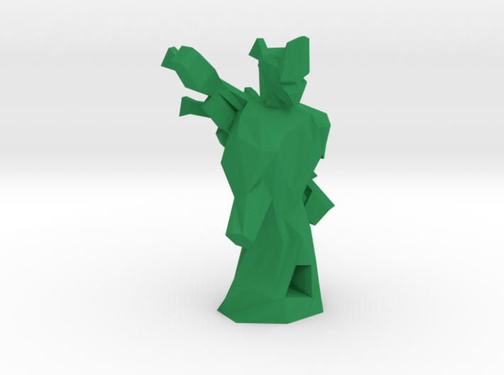 Green 3d printed