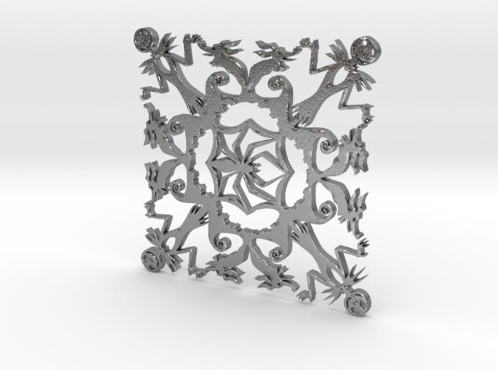 Nightmare Snowflake 3d printed