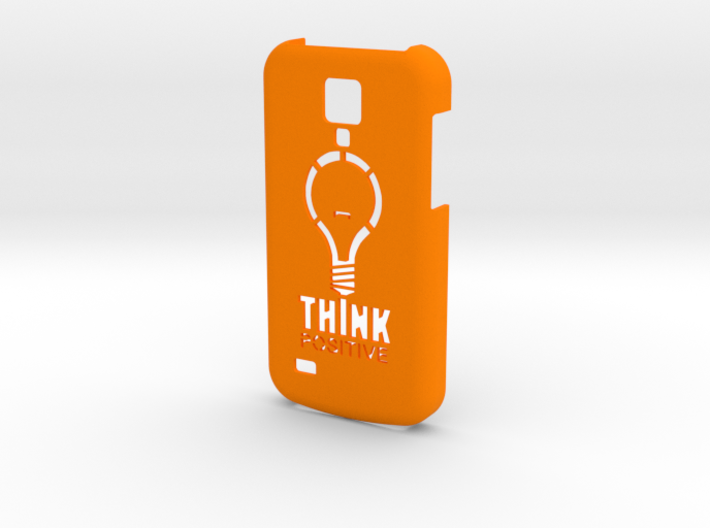 Samsung S4 Mini - Think Positive 3d printed