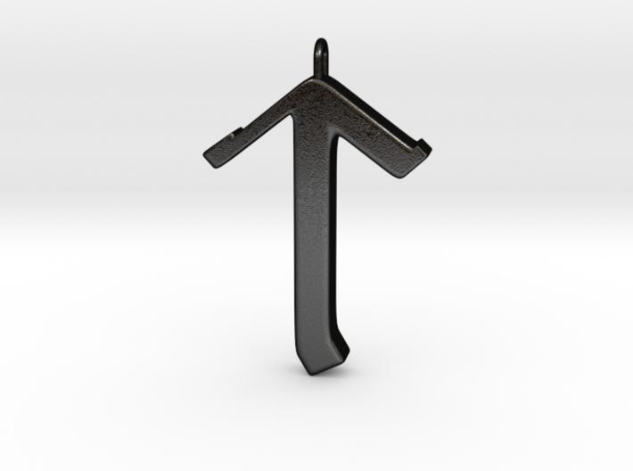 Rune Pendant - Tīr 3d printed