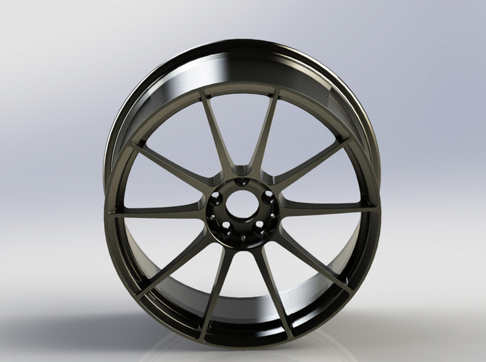 Scaled Performance Wheel 3 3d printed