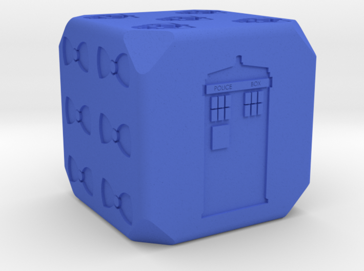 Doctor Who D6 3d printed