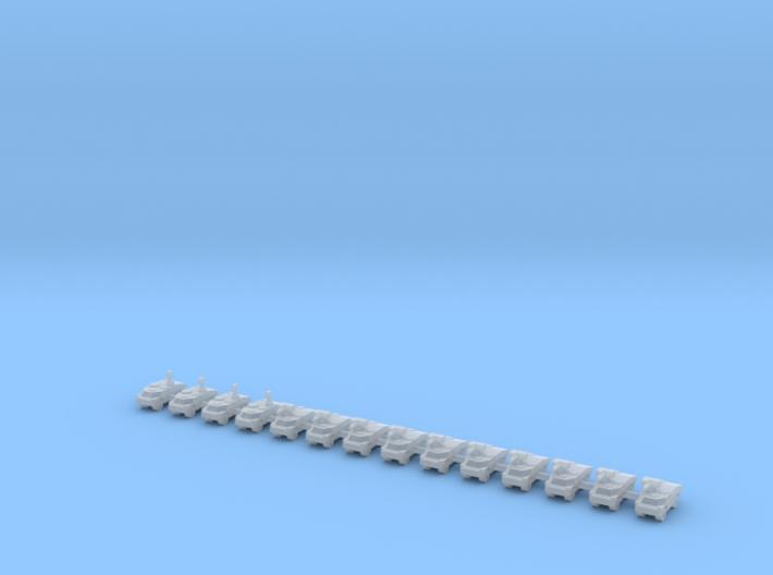 1/600 Fennek LARV (x14) 3d printed