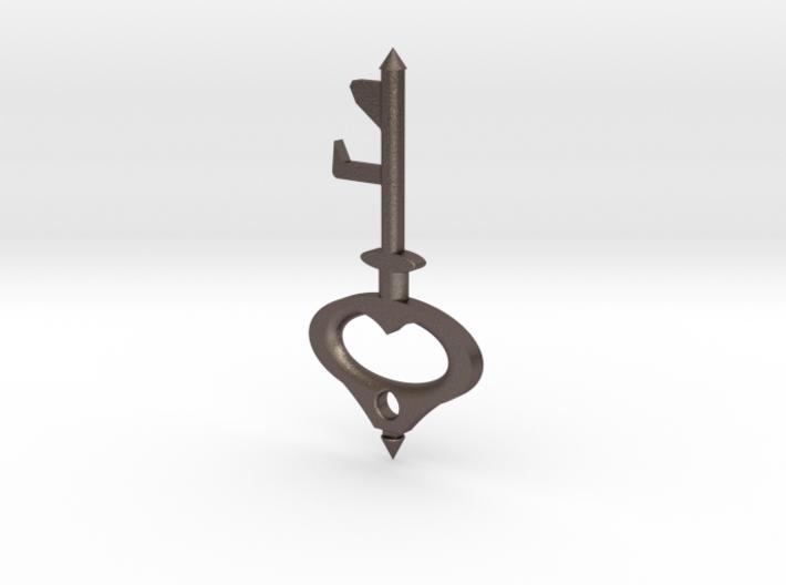 Key Bottle Opener (2-Way) 3d printed
