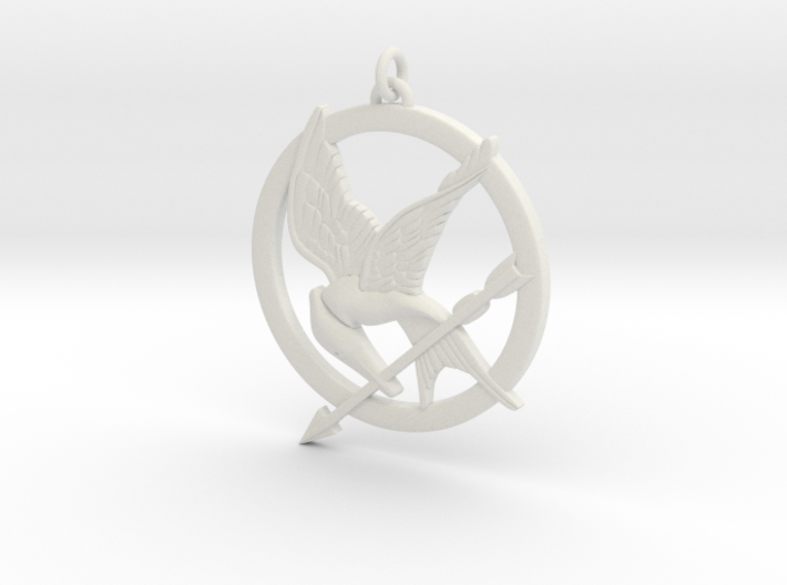 Mockingjay 3d printed