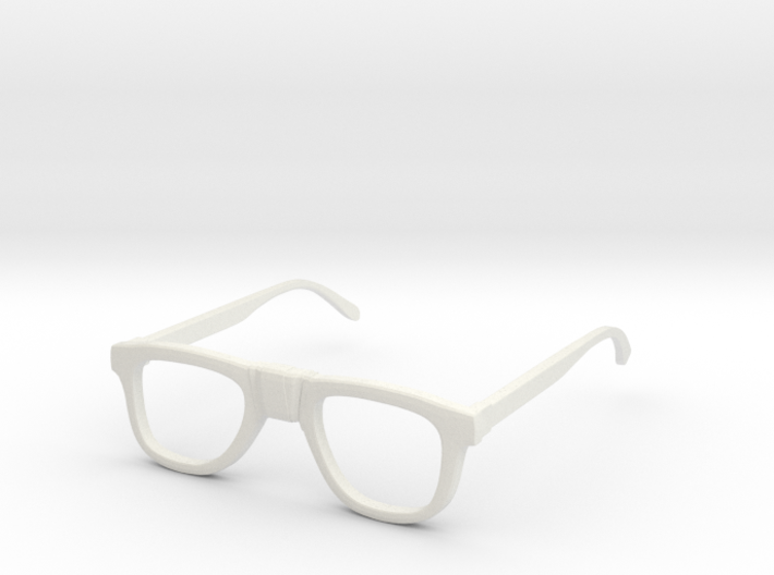Nerd Glasses 3d printed
