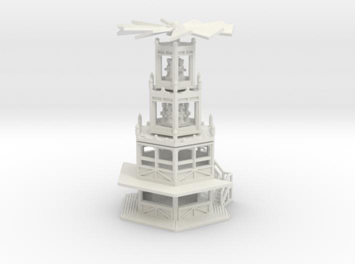 Glühweinpyramide - Ver.1 - 1:160 (N scale) 3d printed