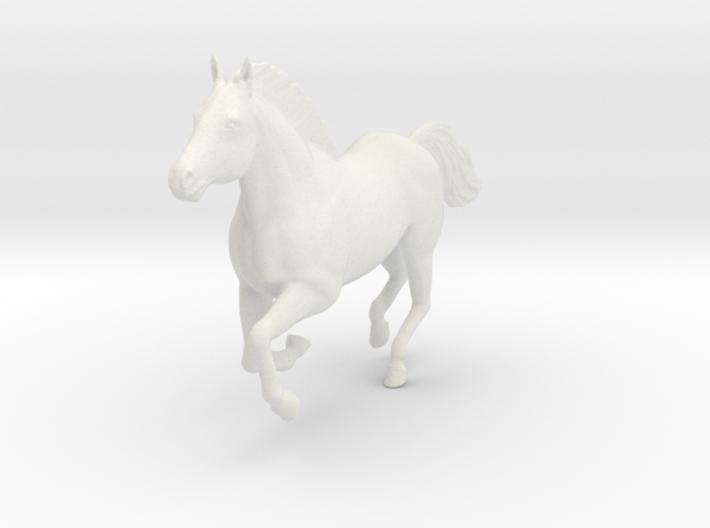Mustang Horse - Galloping Pose 3d printed