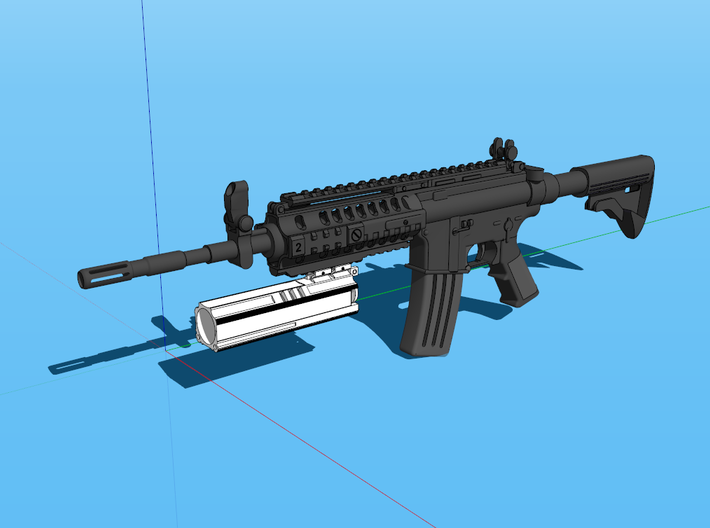 Helio M7203 (Long) 3d printed